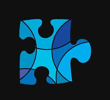 Blue puzzle piece Unisex T-Shirt