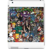 Iconic cartoons and music iPad Case/Skin