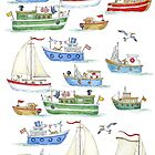 Messing about in boats by Kate Garrett