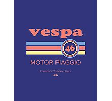 Vespa 46 Photographic Print
