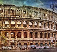 Colosseum Rome by JBJart