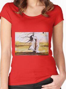 El alma del arbol Women's Fitted Scoop T-Shirt