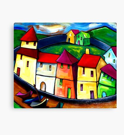 THE  OLD  CITY  OF  GOA. Canvas Print