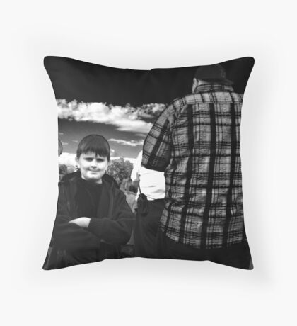 Little and Large Throw Pillow