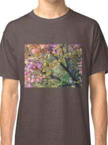 Autumn Colours Manturian Pear Tree Branches Classic T-Shirt
