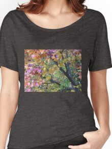 Autumn Colours Manturian Pear Tree Branches Women's Relaxed Fit T-Shirt