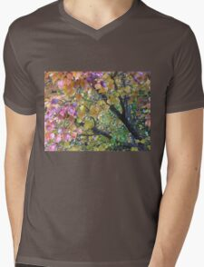 Autumn Colours Manturian Pear Tree Branches Mens V-Neck T-Shirt