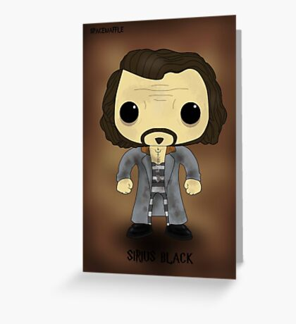Sirius Black Azkaban Greeting Card