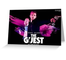 The Guest Dan Stevens Title Art by SmashBam Greeting Card