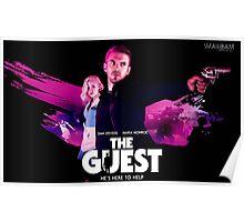 The Guest Dan Stevens Title Art by SmashBam Poster