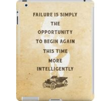 Failure is an Opportunity iPad Case/Skin