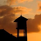 Bali Sunset tower by erikzhong