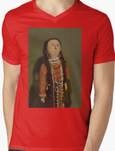 Indian Doll Mens V-Neck T-Shirt