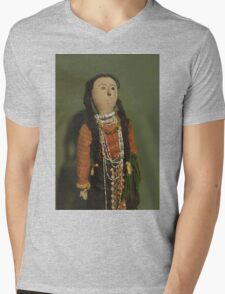 Indian Doll Mens V-Neck T-Shirt