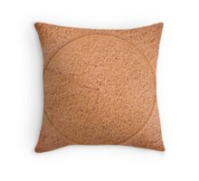 Natures circle Throw Pillow