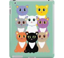 Only Eight Cats iPad Case/Skin