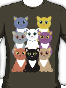 Only Eight Cats T-Shirt