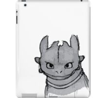 Toothless (larger) iPad Case/Skin