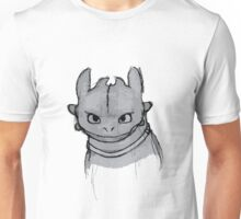 Toothless (larger) Unisex T-Shirt