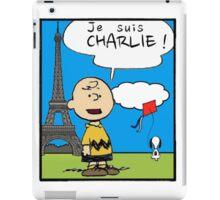 je suis Charlie iPad Case/Skin