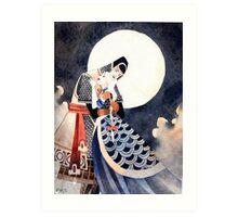 Good Night, My Knight Art Print