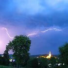 summer thunderstorm by Gerhard Brandhofer