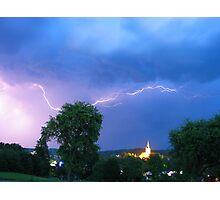 summer thunderstorm Photographic Print