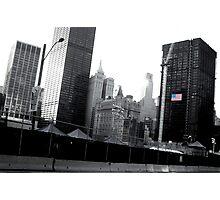 Driving by Ground Zero Photographic Print