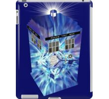 TARDIS Illustrated- Tom Baker iPad Case/Skin
