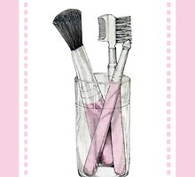Makeup Brushes by Mariana Musa