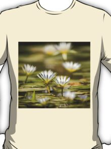 Nymphaea caerulea, known primarily as blue lotus (or blue Egyptian lotus) T-Shirt