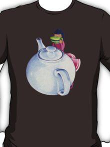 Girl with Tea T-shirt T-Shirt