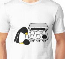 LINUX TUX PENGUIN EGG BOX BLACK EGG Unisex T-Shirt
