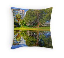 Harold Boas Gardens Throw Pillow