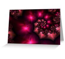 Cranberry Swirl Greeting Card