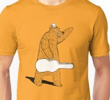 Bear Hails a Taxi Unisex T-Shirt