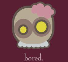 Bored @ Work Zombie by monkeyminion