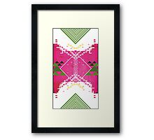 Abstract robotic explosion Framed Print