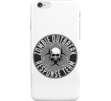 Zombie Response Team 1 iPhone Case/Skin