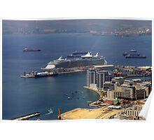 Gibraltar Harbour Poster