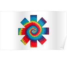 RHCP - Tie Dye Poster