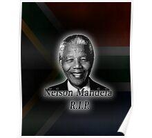 Nelson Mandela R.I.P. Poster