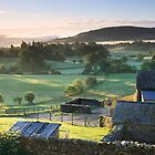 Dawn over the Valley, Cumbria by Lucy Hollis