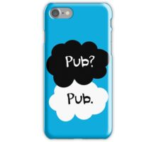 Pub? Pub. iPhone Case/Skin