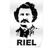 Louis RIEL - Canadian Icon Poster