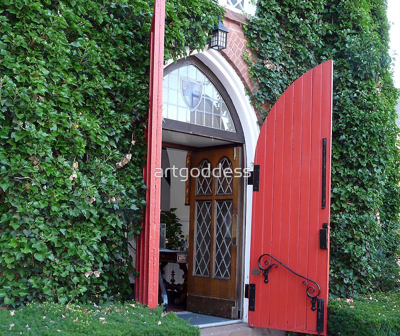 Red Door by artgoddess