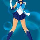 Sailor Mercury by Sarah Paskaruk