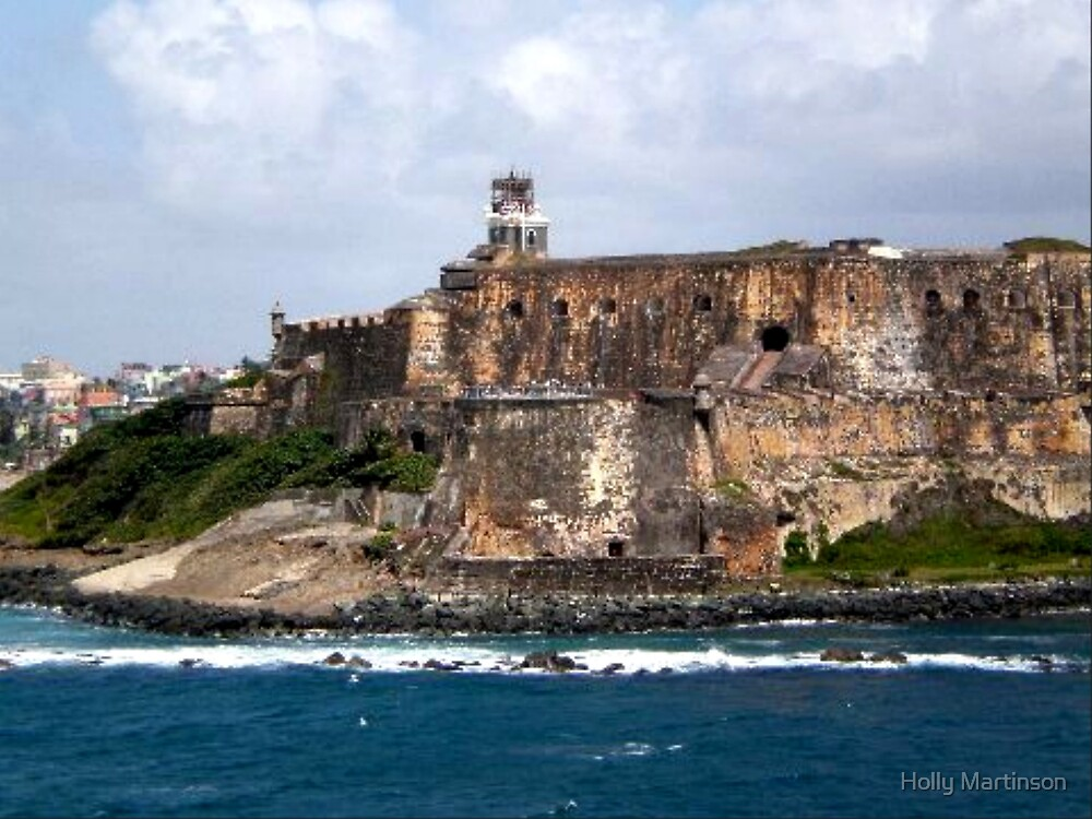 Fort in San Juan by Holly Martinson