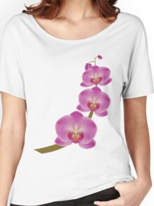 Flower Orchid 3 Women's Relaxed Fit T-Shirt