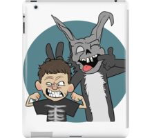 Donnie And Frank Blue iPad Case/Skin